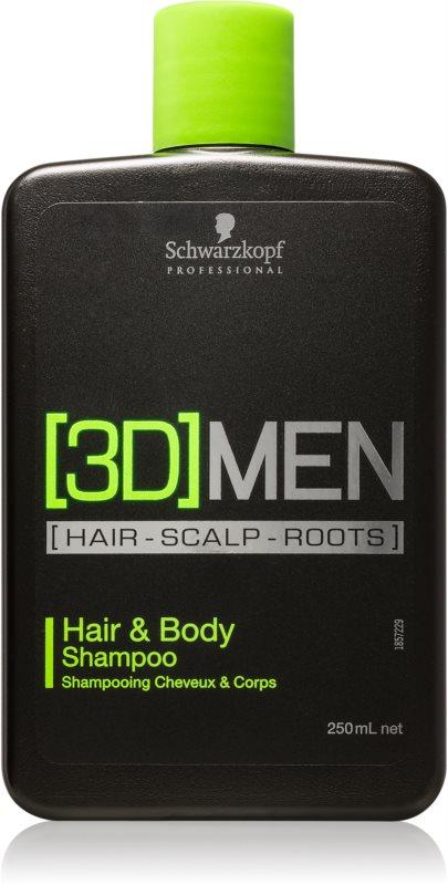 Schwarzkopf Professional [3D] MEN Shampoo & Duschgel 2 in 1